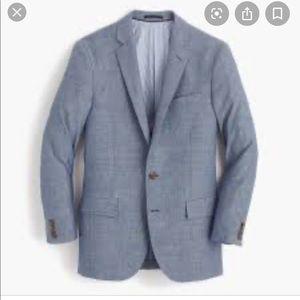 J Crew Italian Wool Linen Ludlow Blazer 36S